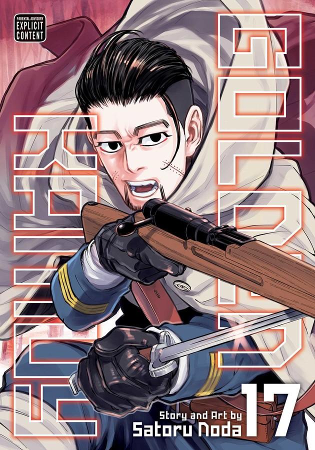 Golden Kamuy Manga Volume 17