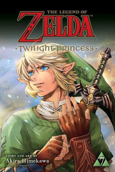 The Legend of Zelda Twilight Princess Manga Volume 7