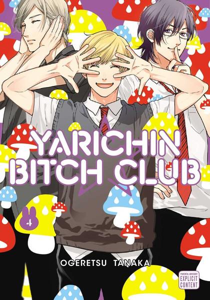 Yarichin Bitch Club Manga Volume 4