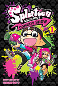 Splatoon Squid Kids Comedy Show Manga Volume 1
