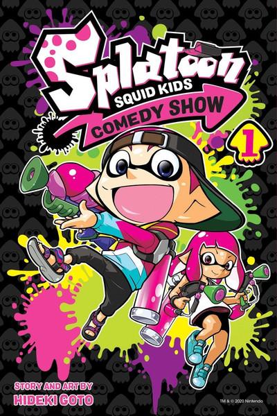 Splatoon Squid Kids Comedy Show Manga Volume 1