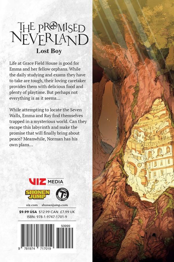 The Promised Neverland Manga Volume 16