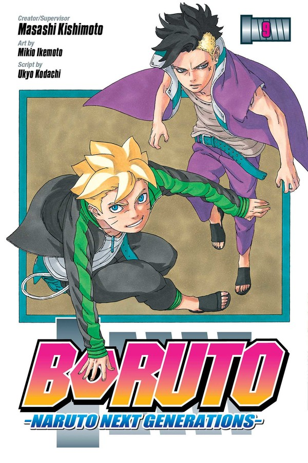 Boruto Manga Volume 9