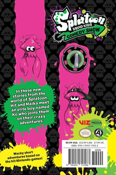 Splatoon Squid Kids Comedy Show Manga Volume 2