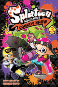 Splatoon Squid Kids Comedy Show Manga Volume 3