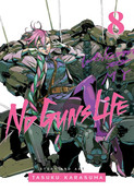 No Guns Life Manga Volume 8