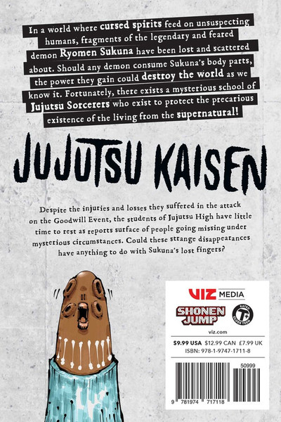 Jujutsu Kaisen Manga Volume 7