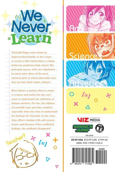 We Never Learn Manga Volume 14
