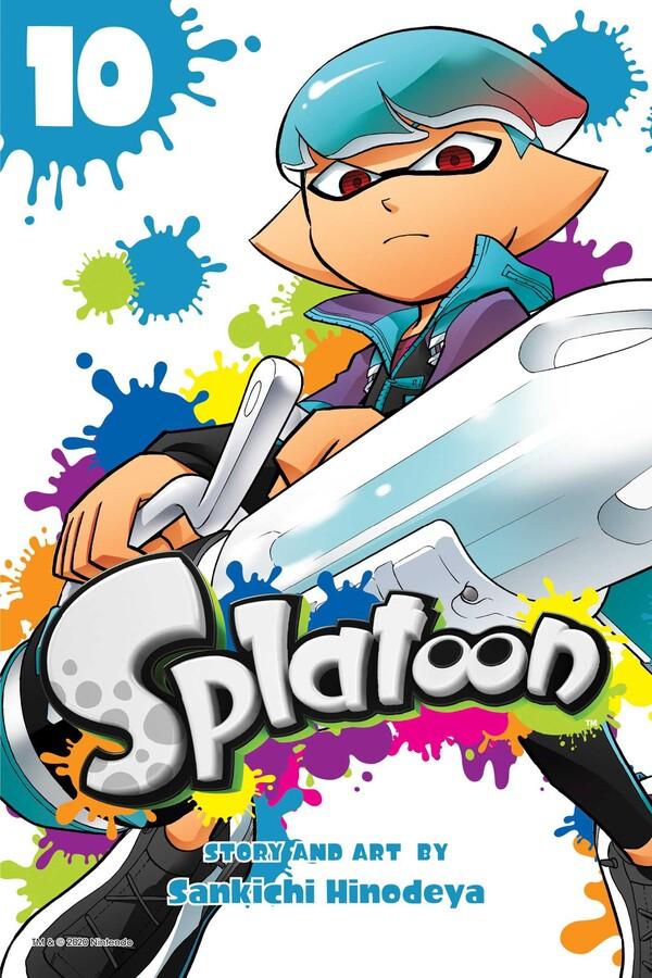 Splatoon Manga Volume 10