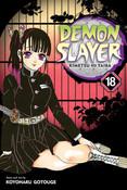Demon Slayer Kimetsu no Yaiba Manga Volume 18