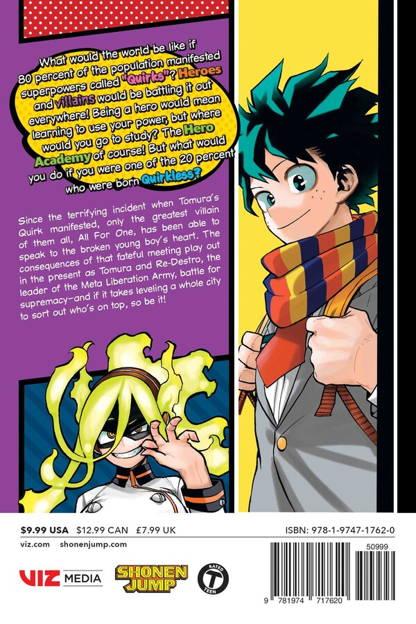 My Hero Academia Manga Volume 25