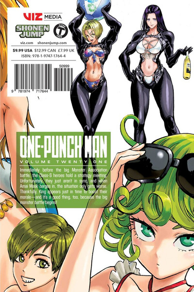 One-Punch Man Manga Volume 21