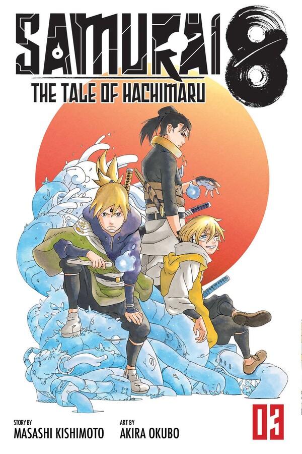 Samurai 8 Manga Volume 3