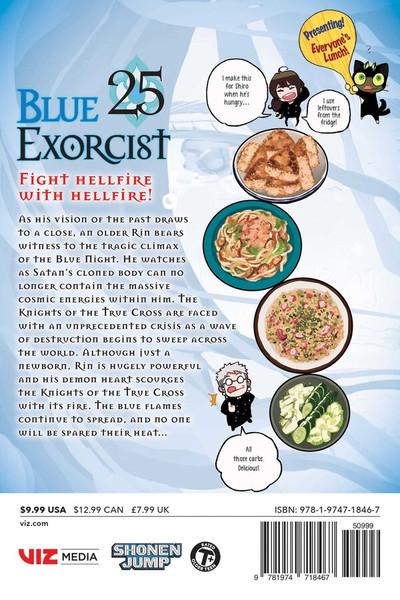 Blue Exorcist Manga Volume 25