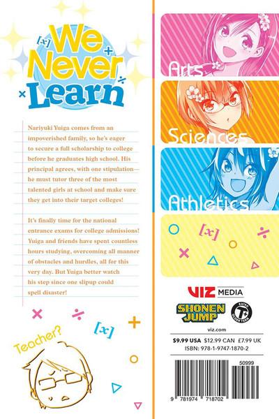 We Never Learn Manga Volume 15