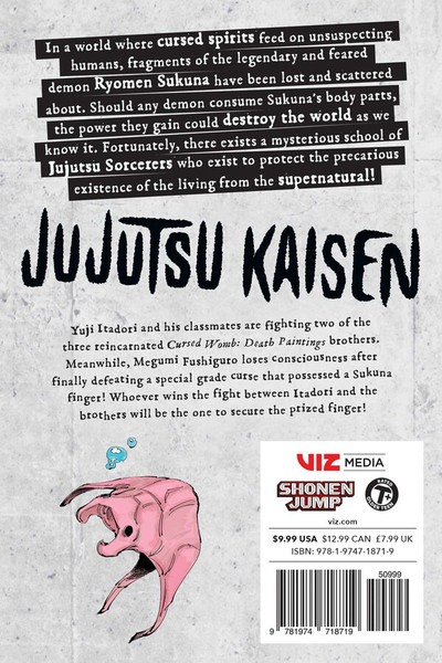 Jujutsu Kaisen Manga Volume 8
