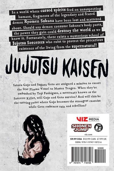 Jujutsu Kaisen Manga Volume 9