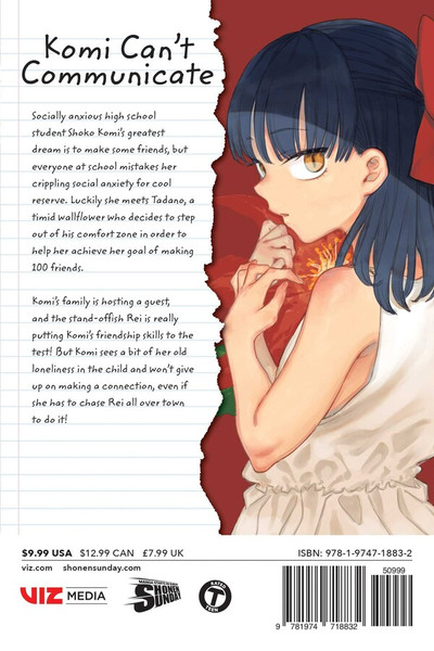 Komi Can't Communicate Manga Volume 13