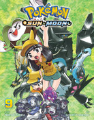 Pokemon Sun & Moon Manga Volume 9