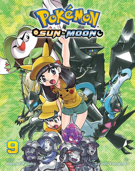 Pokemon Sun & Moon Manga Volume 9
