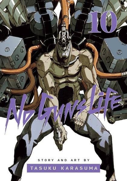 No Guns Life Manga Volume 10