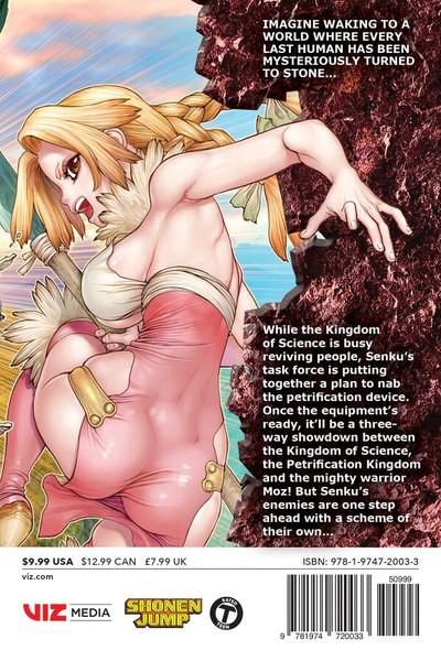 Dr. STONE Manga Volume 15