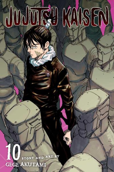 Jujutsu Kaisen Manga Volume 10