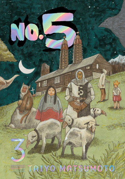 No. 5 Manga Volume 3