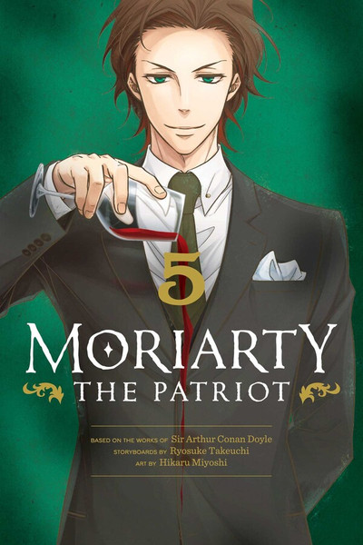 Moriarty the Patriot Manga Volume 5