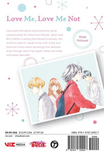 Love Me, Love Me Not Manga Volume 12
