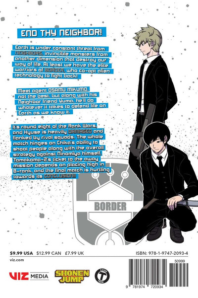 World Trigger Manga Volume 22