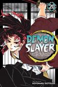 Demon Slayer Kimetsu no Yaiba Manga Volume 20