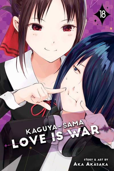 Kaguya-sama Love Is War Manga Volume 18