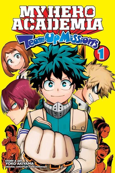 My Hero Academia Team-Up Missions Manga Volume 1