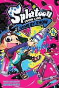 Splatoon Squid Kids Comedy Show Manga Volume 4