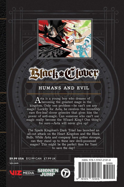 Black Clover Manga Volume 25