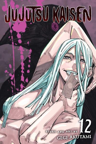 Jujutsu Kaisen Manga Volume 12
