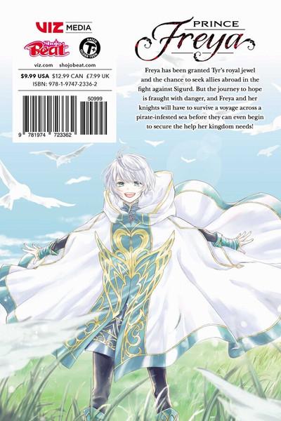 Prince Freya Manga Volume 5