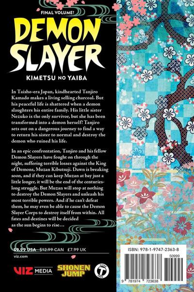 Demon Slayer Kimetsu no Yaiba Manga Volume 23
