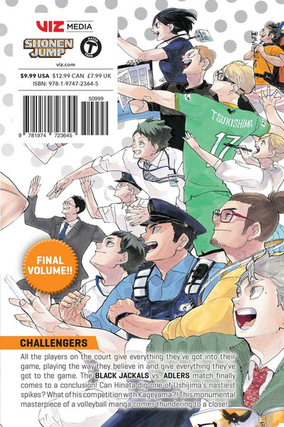 Haikyu!! Manga Volume 45