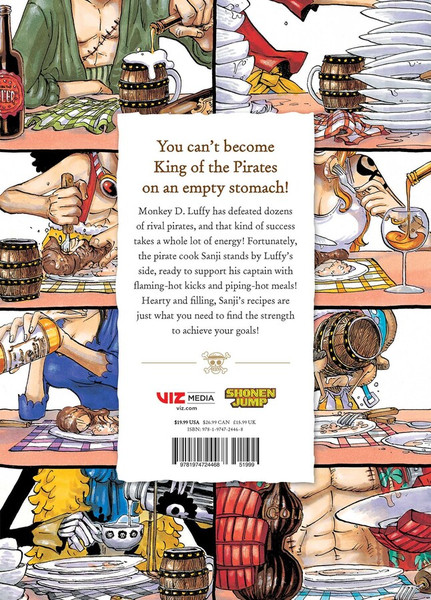 One Piece Pirate Recipes (Hardcover)