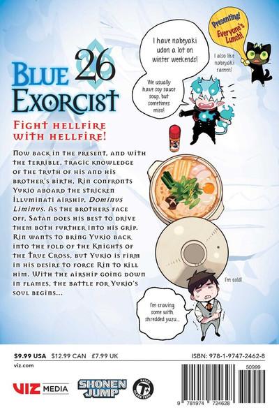 Blue Exorcist Manga Volume 26
