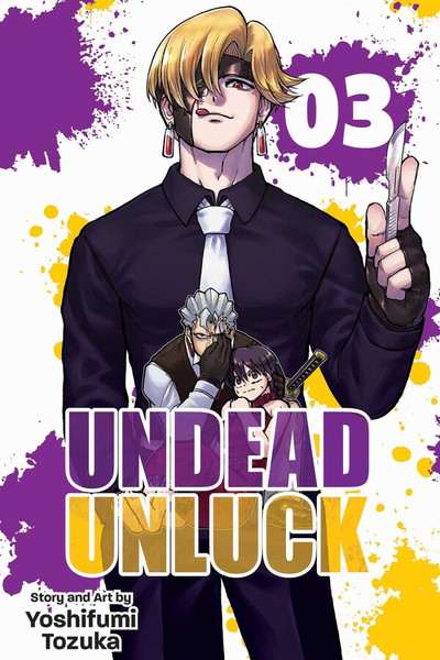 Undead Unluck Manga Volume 3