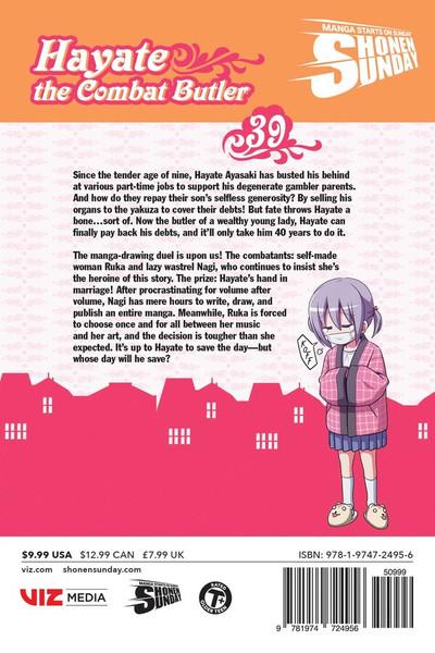 Hayate the Combat Butler Manga Volume 39