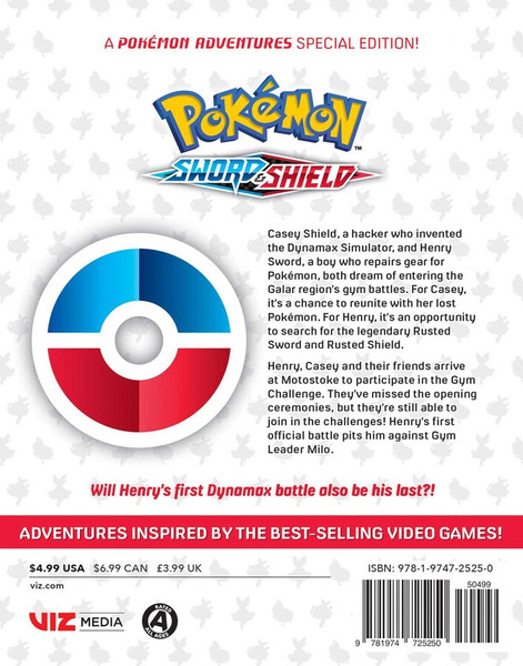 Pokemon Sword & Shield Manga Volume 2