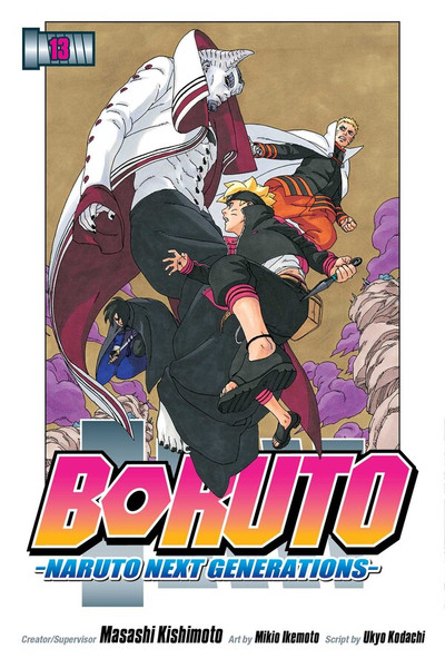 Boruto Manga Volume 13