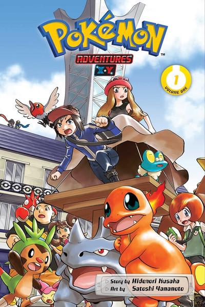 Pokemon Adventures XY Manga Volume 1