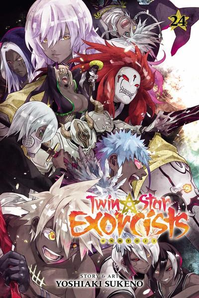 Twin Star Exorcists Manga Volume 24