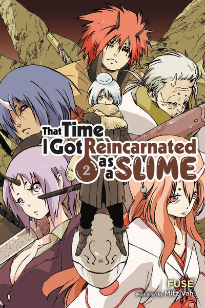 That Time I Got Reincarnated as a Slime Novel Volume 2
