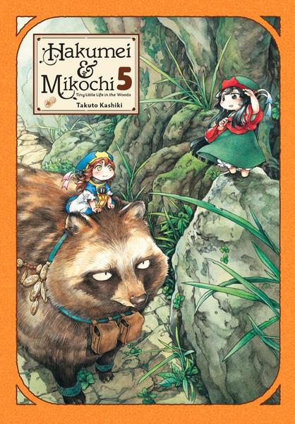 Hakumei and Mikochi Tiny Little Life in the Woods Manga Volume 5